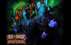 8 Most Terrifying Attractions in America: The House of Horrors and Haunted Catacombs #L21Halloween