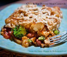 Beyond Chicken Chili and Tot Casserole #BeyondMeat