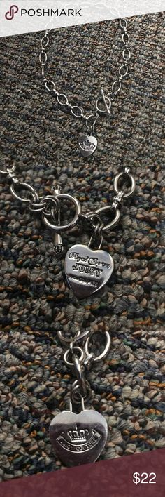 Juicy Couture Starter Necklace Juicy Couture Starter Necklace in Silver Juicy Couture Jewelry Necklaces