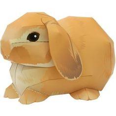 Conejo Holland lop,Animales,Arte de papel,Holanda,Mamíferos,Conejo,Animales,Arte de papel,Serie de animales de compañía,Sencillo,Sencillo,Conejo