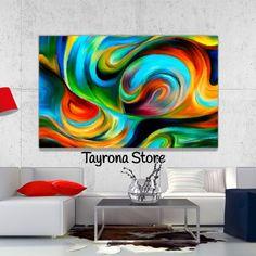 Cuadro Decorativo Tayrona Store Para Sala o Alcoba Abstracto Colores 05