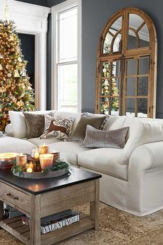 Create a warm and welcoming space for friends and family to gather and celebrate the holidays.