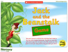 Jack and the Beanstalk Game from Scholastic