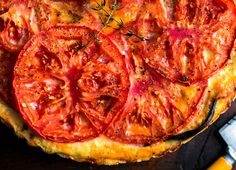 NYT Cooking: Eggplant and Tomato Pie