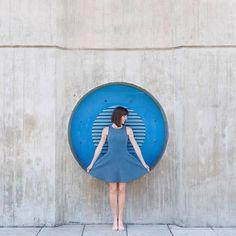 Фото из инстаграма Анны Девис и Даниэля Руэды: занимательная архитектура | AD Magazine