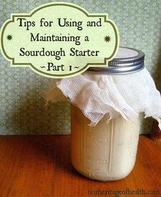 (This post may contain partner links to products I love and recommend, which helps to support Our Heritage of Health. See more details here:) It took me a long time to finally start making my own sourdough starter and sourdough bread. It was something I had wanted to do for awhile, but it seemed so …