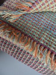 waffle weave silk scarf