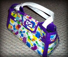 DIY DUCT TAPE PURSES