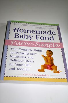 1966 baby food recipes baby food recipes pinterest baby food homemade baby food recipe book forumfinder Gallery
