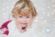 Baby Christmas photos - reindeer and fairy lights.  http://www.dovegreyphotography.co.uk/lyra-and-ambers-christmas-session/