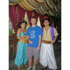 Me with Al and Jas at Disneyland in the summer of 2009  #AlAndJas #AladdinAndJasmine #Caligirls #DisneylandCalifornia #Disneyland #HappiestPlaceOnEarth #DisneyMeetAndGreet #MagicKingdom #DisneylandMagicKingdom by vickers.andrew