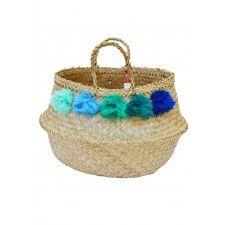 ElizaGranLarge Venice Pom Pom Basket VIII