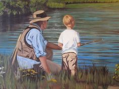 Vintage Fly Fishing Art | vintage fly fishing art | Big Boy Room