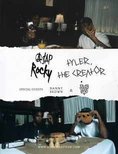 Prev1 of 2Next Before hitting the road on his European tour 16 Day Trip, ASAP Rocky & Tyler The Creator announced that they'll be hitting the road together on the Rocky & Tyler tour. The tour will also feature Danny Brown and Vince Staples. The Rocky & Tyler tour is set to kick off on …