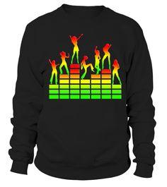 music   sound   dancing girls  T shirt