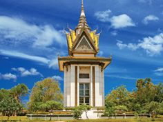 Killing Fields Memorial, Choeung Ek, Cambodia