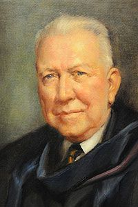 Dr. Irwin J. Lubbers, President, Hope College; Fall Commencement 1959