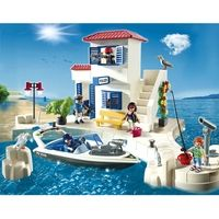 Playmobil Harbour Police Station with Speedboat, raises £1.14 for your charity with Give as you Live.