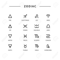 Stock Vector Thin line vector zodiacal symbols. - Stock Vector Thin line vector zodiacal symbols. Astrology, horoscope sign, graphic d - Simbolos Tattoo, Dreieckiges Tattoos, Glyph Tattoo, Poke Tattoo, Tattoo Fonts, Finger Tattoos, Sleeve Tattoos, Tattoo Quotes, Sharpie Tattoos