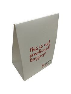 Printed paper bag - white matte bag with printing #paperbag #promotionalbag #promotion #branding