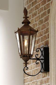 The English Manor Lantern — Gas or Electric | The Architectural Series Lanterns | Carolina Lanterns
