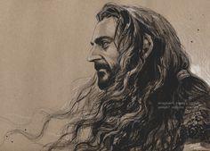 Thorin Oakenshield of new year by evankart.deviantart.com on @deviantART