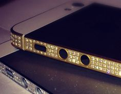 Amosu diamond iPhone 5 l #luxury