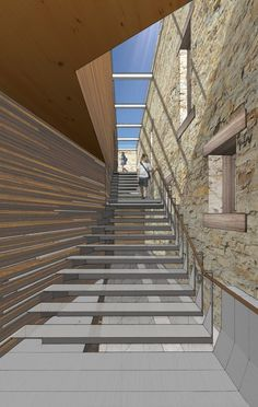 0eb2100b7 Gallery of LTL Architects' Timber Intervention Wins Competition for  Telluride Arts Center in Colorado - 24