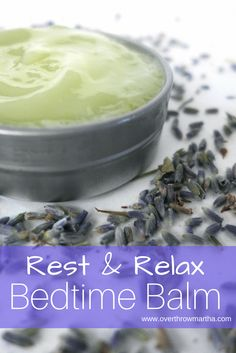How to make your own #DIY Bedtime Balm for a better night's #sleep #oilyaddict