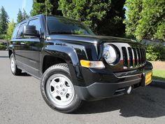 2014 Jeep Patriot Sport Sport SUV 4 Doors Black Clearcoat for sale in Kirkland, WA http://www.usedcarsgroup.com/used-2014-jeep-patriot-kirkland-wa-1c4njpba7ed537790