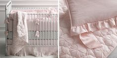 Frayed Ruffle Nursery Bedding Collection | RH Baby & Child