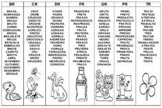 Ortografia vogal + r         Ortografia vogal + l                       Complete com l ou u     Fonte:   http://lucianakerche.blogspot.com...