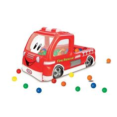 Little Tikes Fire Truck Play Center Ball Pit Multicolor  sc 1 st  Pinterest & Little Tikes Fire Truck Play Center Ball Pit Multicolor | Play ...