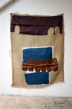 Gunvor Nervold Antonsen Textile Fiber Art, Textile Artists, Textiles, Textile Patterns, Fall Patterns, Color Patterns, Fibre And Fabric, Quilted Wall Hangings, Fabric Manipulation