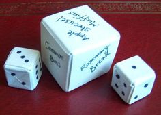 How to make Origami Dice - math games, roll for chores, roll for directions to go on a walk...