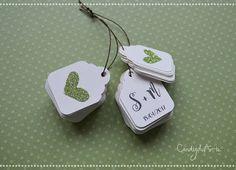 Tag colore bianco   Tag avorio  Etichetta per bomboniere