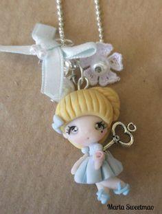 Alice #clay charm