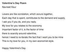 Economics Love Poem By Christopher Duncan Economics