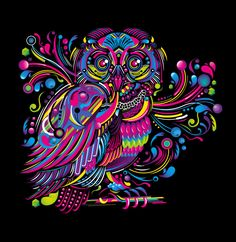 Owl by FlyDesignStudio.deviantart.com on @deviantART
