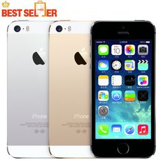 100% Original Hot Sale Apple iphone 5S Cell Mobile phone LTE Dual core Unlocked 16GB ROM 8MP IOS GPS WIFI Multi-language other Brand Name:APPLE Shipping: Free Shipping  #Apple #popular #mobile #phones #useful