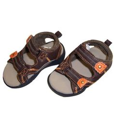 Infant Toddler Boy's Brown Sandal - Size 9-12 Months AccessoWear. $9.99. Save 33% Off!