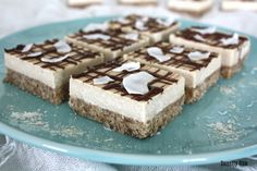 Raw Coconut Cream Squares and a GIVEAWAY | Sweetly Raw