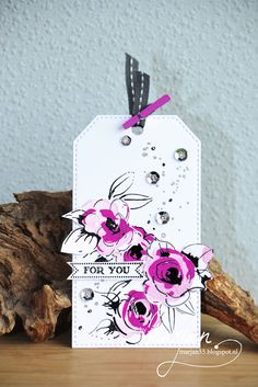 Tag made with Altenew stamps