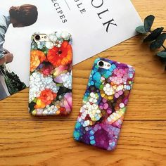 Stone art is a global phenomenon that has been trending lately and now you can proudly display gorgeous renderings with our cases. Our collection features tw...