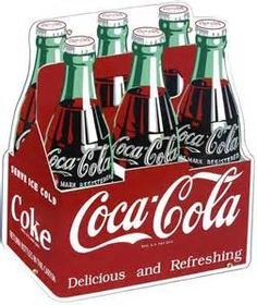 Home of Coca Cola- we love all the brand's vintage advertisements!