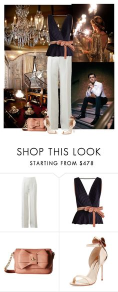"""""""Waiting on the waiter"""" by fashionista-jaygee ❤ liked on Polyvore featuring Reception, Michael Kors, Roksanda, Vivienne Westwood and Sophia Webster"""