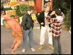 TANGO SLAP: Got banned due to happy slapping at schools. The new version had the orange-clad person kissing the man instead of hitting him. Tv Adverts, Stuck In My Head, 90s Childhood, Tango, The Man, Kissing, Schools, Youtube, Track