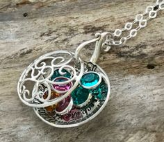TWO WINNERS will win the handmade necklace of their choice from The Silver Wing! You have your choice of the Birthstone Locket or the Tree of Life necklace. They are both stunning! You can personalize these with a phrase or names. To win, follow us and repin.