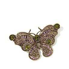 "Heidi Daus ""Butterfly Love"" Crystal Barrette"