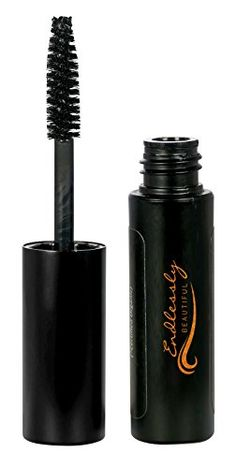Natural Organic Mascara by Endlessly Beautiful, Black - Vegan & Gluten Free - Nourishes and Conditions Eyelashes - Enriched with Chamomile & Vitamin E *** Check out this great product.